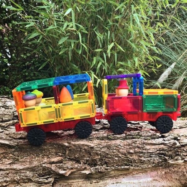 Train and Train Tracks
