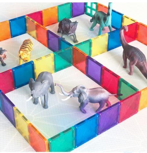 Connetix Tiles Farm Animals