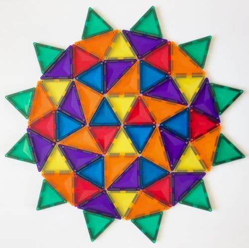 Magnetic Tile Mandella