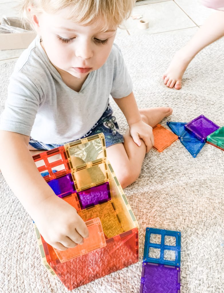 How Connetix Magnetic Tiles Assist Brain Development