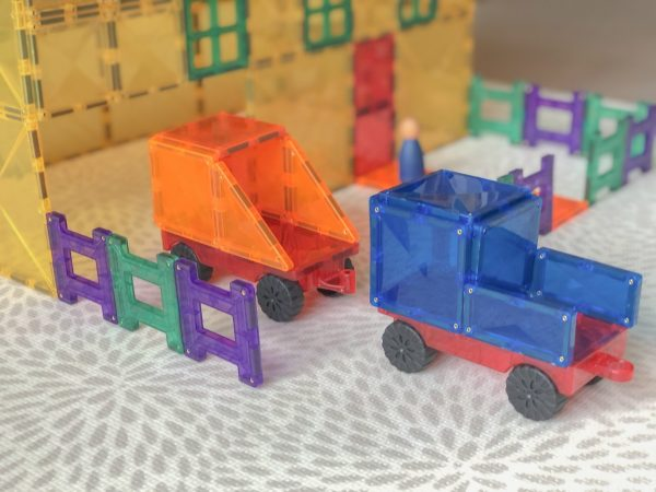 Connetix Magnetic Tiles - Car Pack