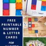 Free Printable Connetix Magnetic Tile Challenge Cards