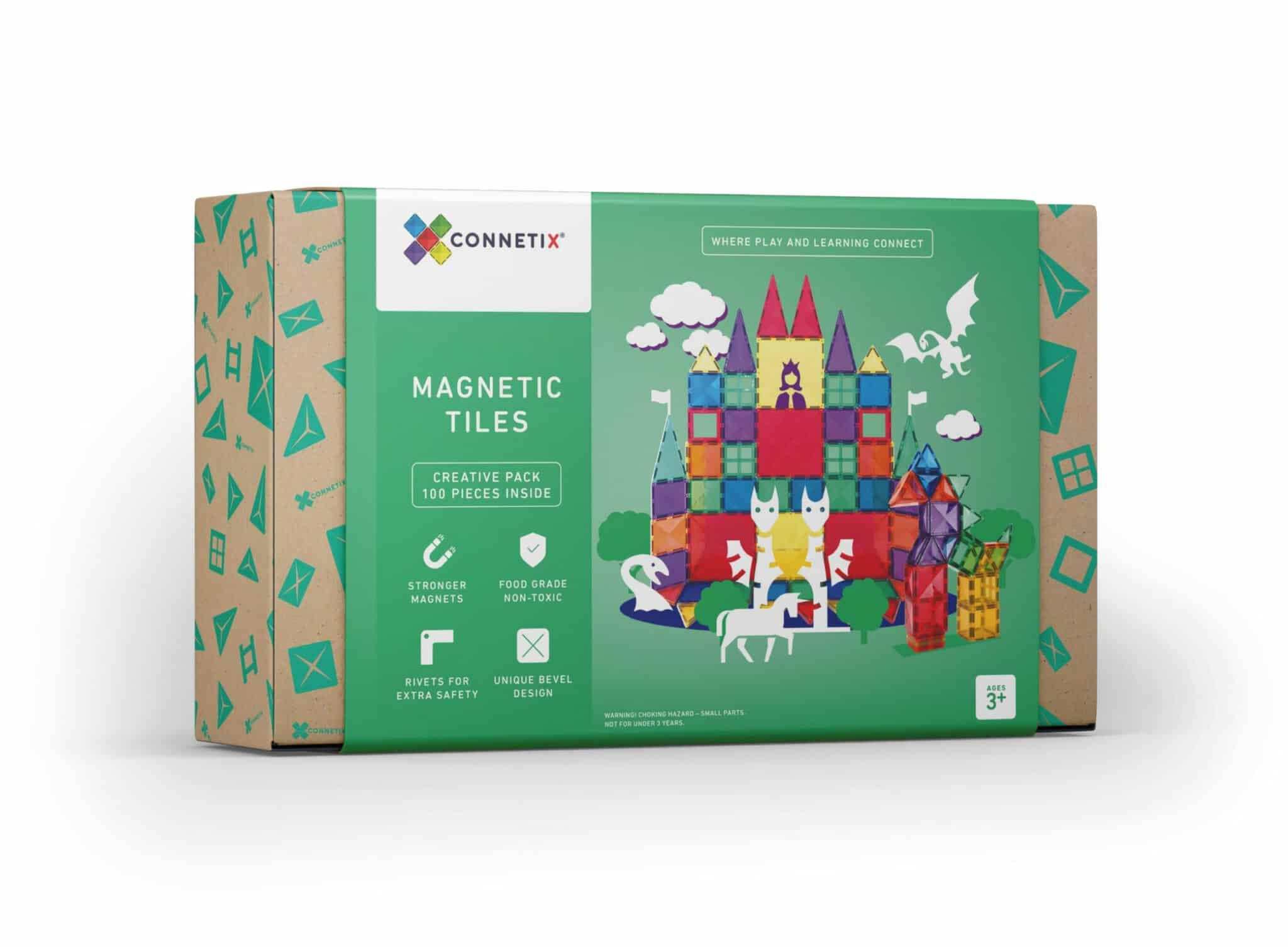 connetix-magnetic-tiles-100-pcs